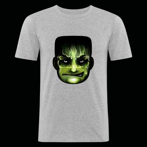 Frankenstein_logo - Mannen slim fit T-shirt