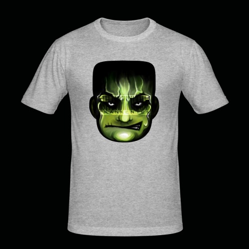 Frankenstein_logo - slim fit T-shirt