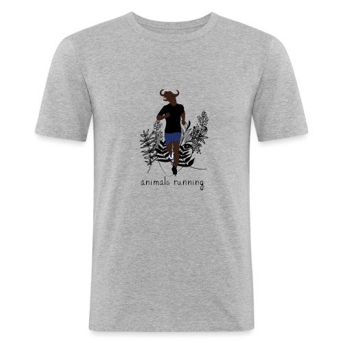 Buffle running - T-shirt près du corps Homme