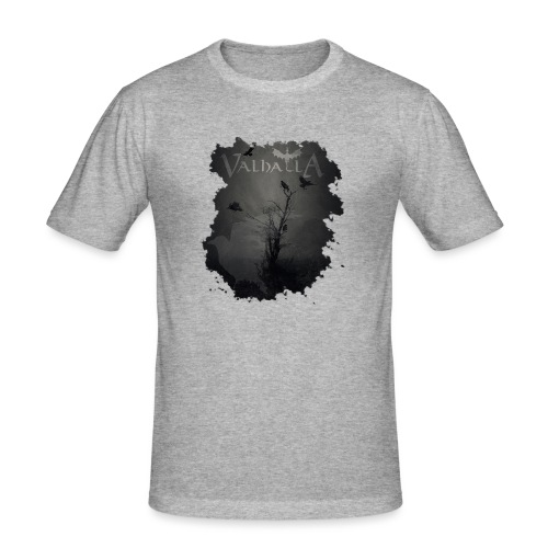 valhalla ravens - Herre Slim Fit T-Shirt