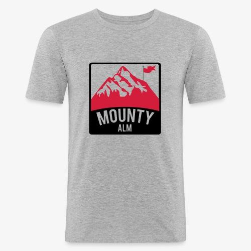 MountyAlm - Männer Slim Fit T-Shirt