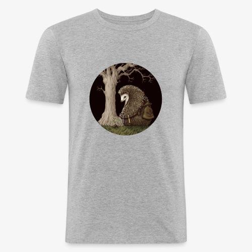 Hérisson du renouveau - T-shirt près du corps Homme