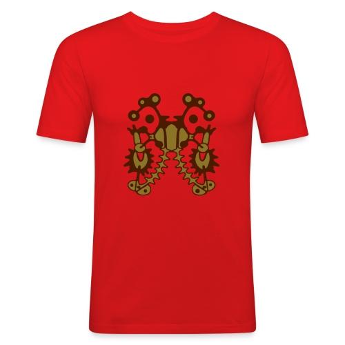 Tattoo T-Shirt Design - Männer Slim Fit T-Shirt