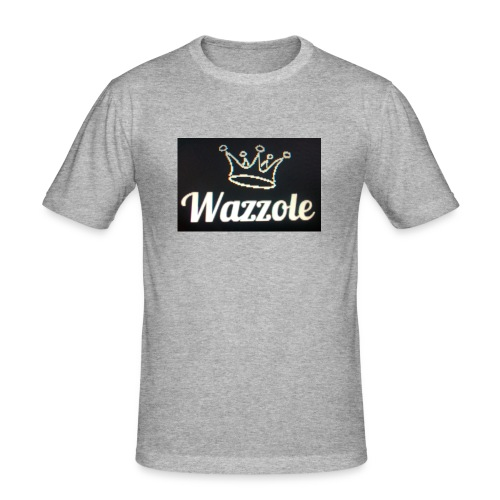 Wazzole crown range - Men's Slim Fit T-Shirt