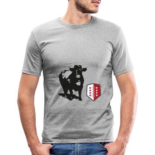 Vache - Cow - Männer Slim Fit T-Shirt