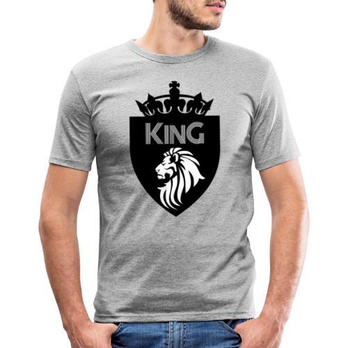 king - T-shirt près du corps Homme
