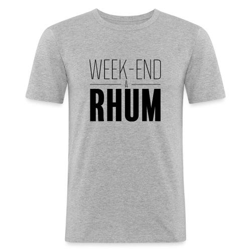 Week-end à rhum - T-shirt près du corps Homme