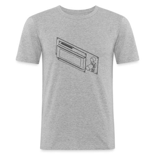 2004LCD (no text). - Men's Slim Fit T-Shirt