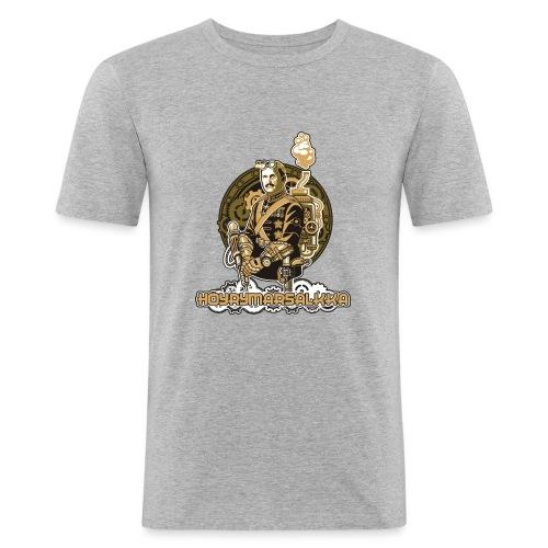 Höyrymarsalkan upea naisten T-paita - Miesten tyköistuva t-paita