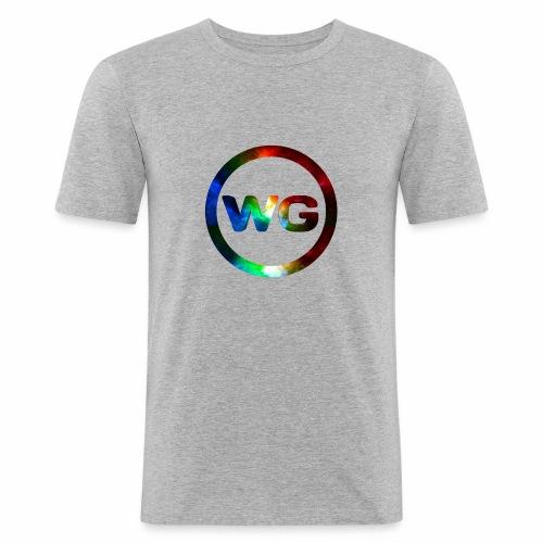 wout games - Mannen slim fit T-shirt