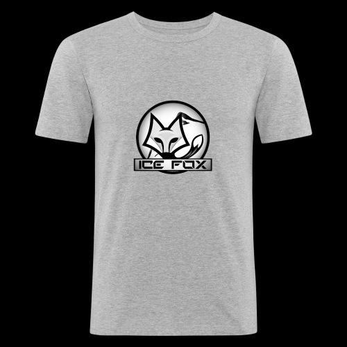 Ice Fox Logo - Mannen slim fit T-shirt