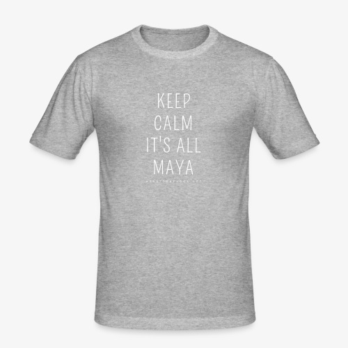 Heartcore Yoga 'It's All Maya 1' - slim fit T-shirt