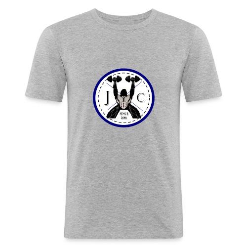T-Shirt Basique Col V - JC - T-shirt près du corps Homme