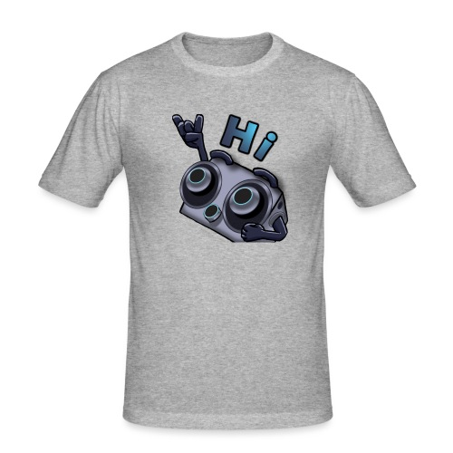 The DTS51 emote1 - Mannen slim fit T-shirt