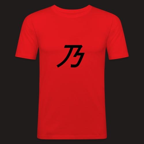 B Logo - Herre Slim Fit T-Shirt