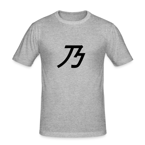 B Logo - Herre Slim Fit T-Shirt