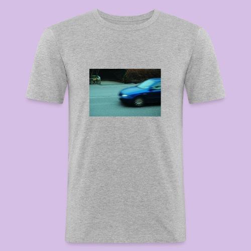 BLUE CAR - Slim Fit T-shirt herr