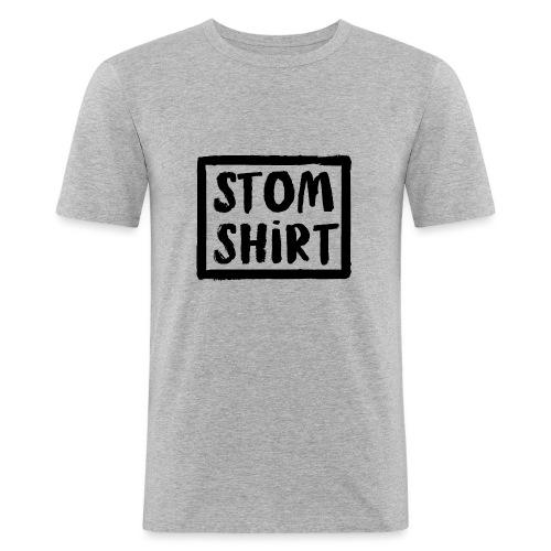 Stom shirt - Mannen slim fit T-shirt