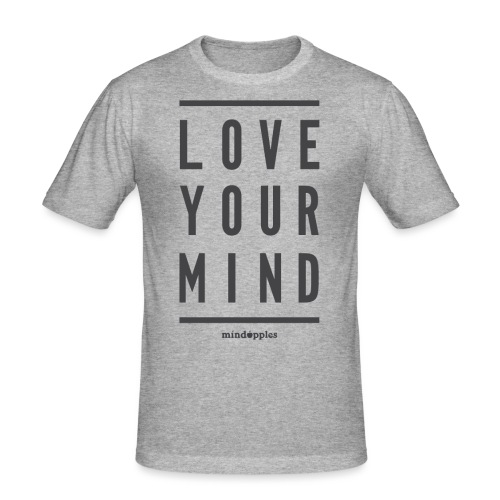 Mindapples Love your mind merchandise - Men's Slim Fit T-Shirt