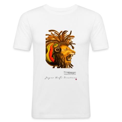 Dred Lion 7 png - Men's Slim Fit T-Shirt