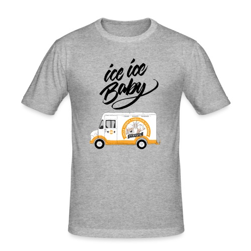 Ice Truck – Ice Ice Baby - Männer Slim Fit T-Shirt