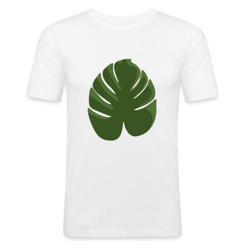 Green - Maglietta aderente da uomo