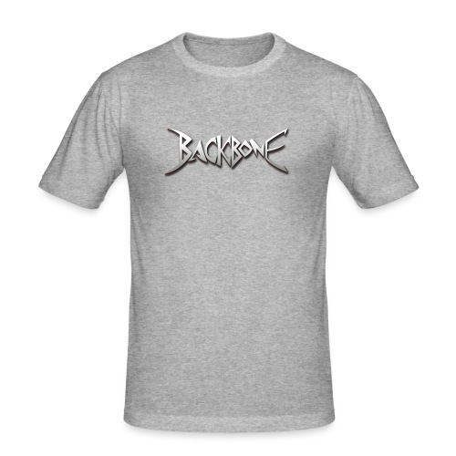 Backbone Logo - Mannen slim fit T-shirt