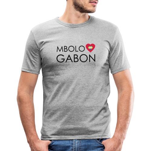 MBOLO GABON - T-shirt près du corps Homme