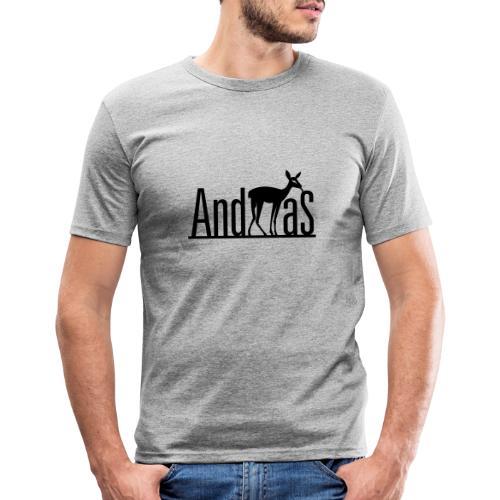 AndREHas - Männer Slim Fit T-Shirt