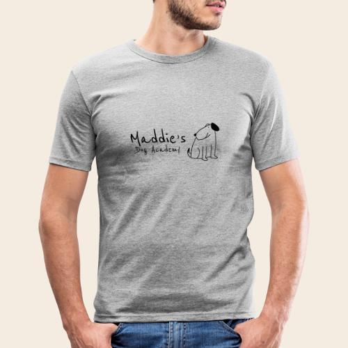 Académie des chiens de Maddie (noir) - T-shirt près du corps Homme