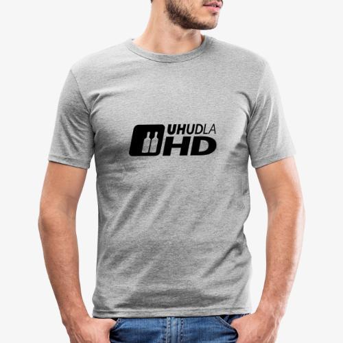 UHUDLA HD – extended Vision - Männer Slim Fit T-Shirt