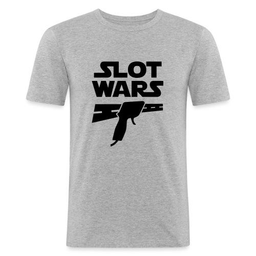 Slot Wars - Männer Slim Fit T-Shirt