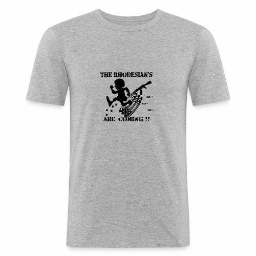 Rhodesians are coming - Men's Slim Fit T-Shirt