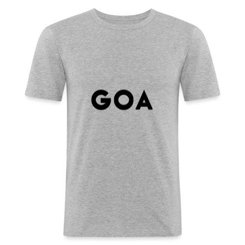 Trippy Goa - Männer Slim Fit T-Shirt