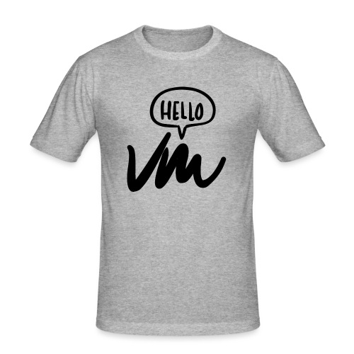 VM Hello! - Men's Slim Fit T-Shirt
