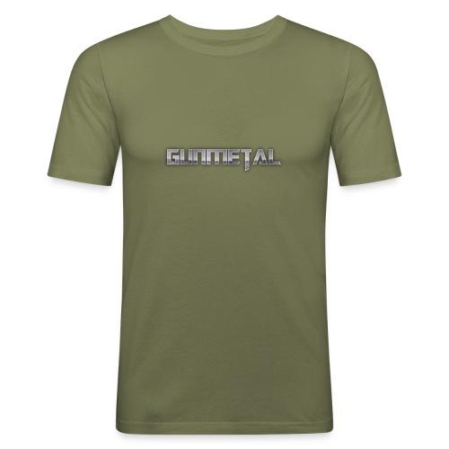 Gunmetal - Men's Slim Fit T-Shirt