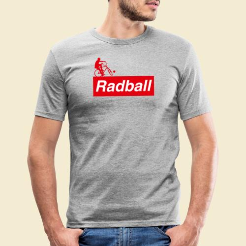 Radball | Red - Männer Slim Fit T-Shirt