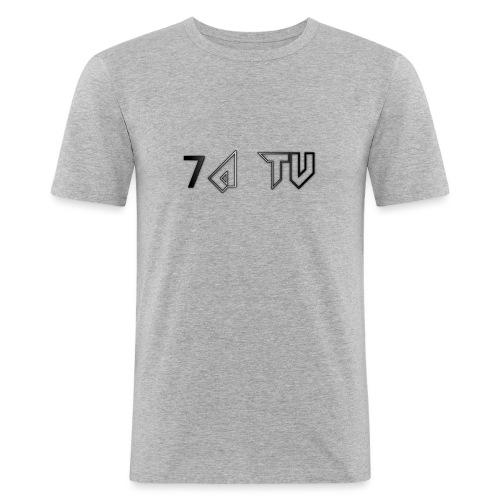 7A TV - Men's Slim Fit T-Shirt