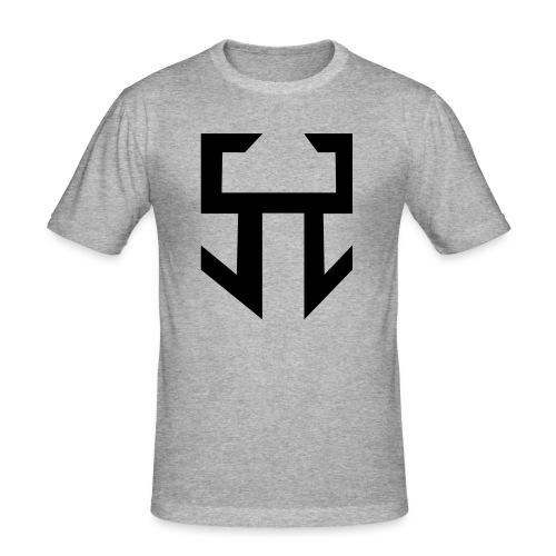 stranger logo - T-shirt près du corps Homme