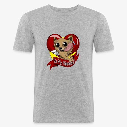 Engla Be my valentine? - Slim Fit T-shirt herr
