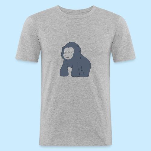 Baby Gorilla - Men's Slim Fit T-Shirt
