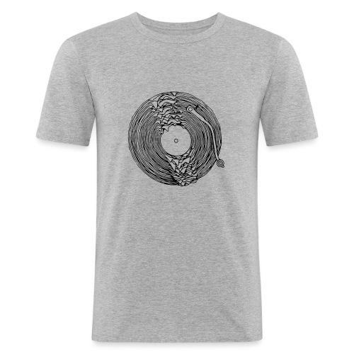 Giradischi sciolto - Maglietta aderente da uomo