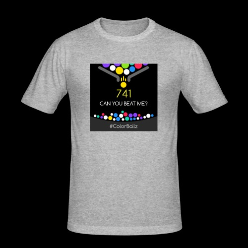 color ballz - T-shirt près du corps Homme