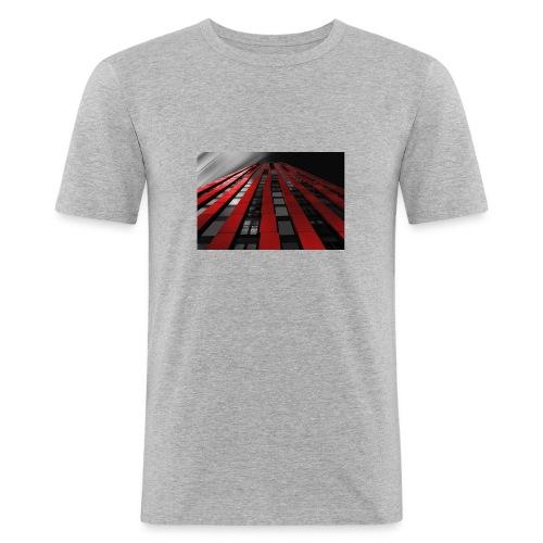 building-1590596_960_720 - Männer Slim Fit T-Shirt