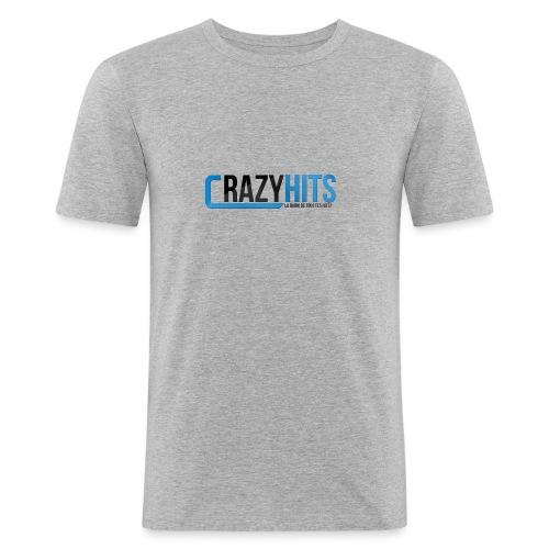 CrazyHIT - T-shirt près du corps Homme