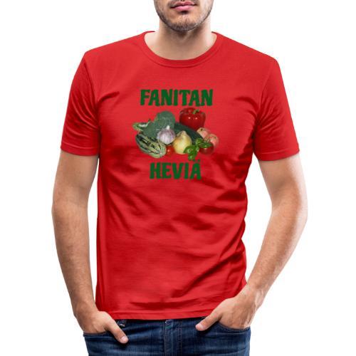 Fanitan heviä - Miesten tyköistuva t-paita
