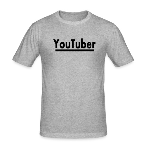 youtuber film youtube - Männer Slim Fit T-Shirt