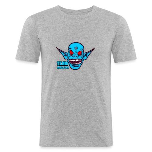 Team Bergsten logo - Slim Fit T-shirt herr