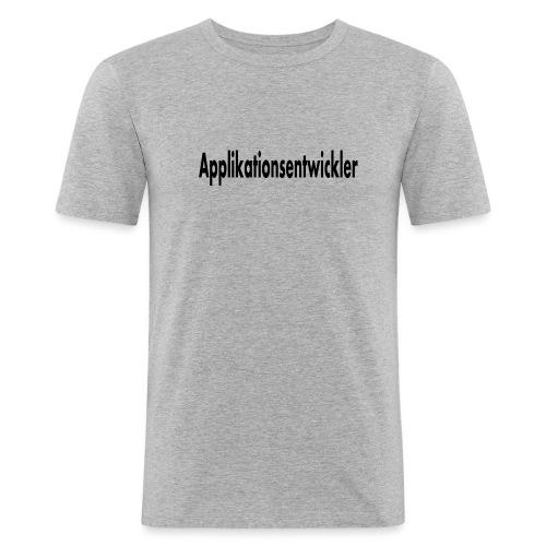 applikationsentwickler - Männer Slim Fit T-Shirt