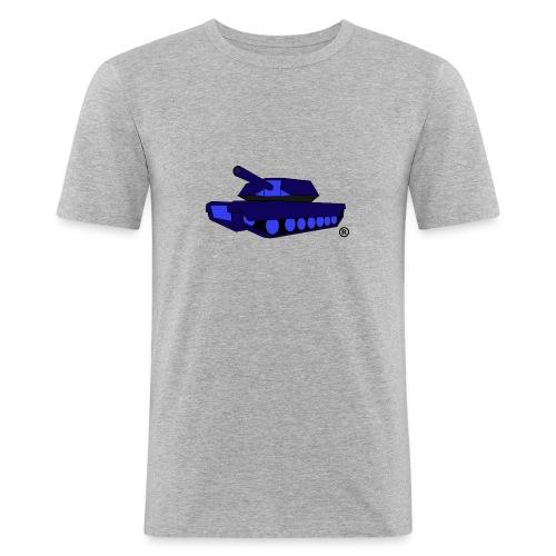 BLUE TANK png - Men's Slim Fit T-Shirt